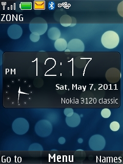 Bubble Berry  Mobile Theme