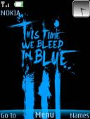 Bleed Blue Mobile Theme