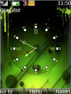 Green Mobile Theme