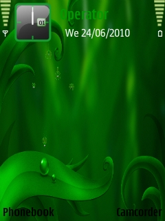 Spider_diving Mobile Theme
