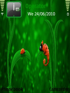 Bug_chameleon Mobile Theme