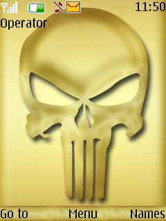 Punisher Mobile Theme