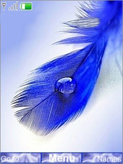 Blue Drops Mobile Theme