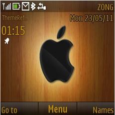 Wood Apple Mobile Theme