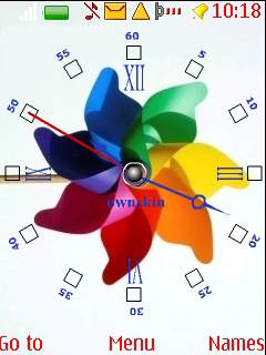 Swf Rainbow Beauty Mobile Theme