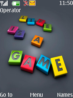 Life Is Game Mobile Theme