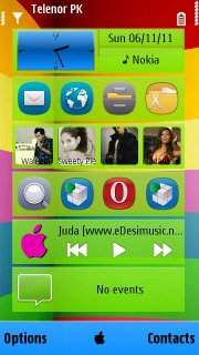 IAnna Mobile Theme