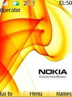 Nokia Yellow Mobile Theme