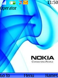 Nokia Blue Mobile Theme