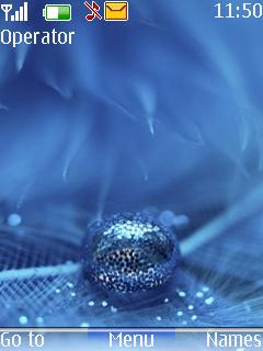 Blue Drop Mobile Theme