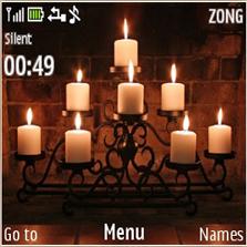 Candle Lights Mobile Theme
