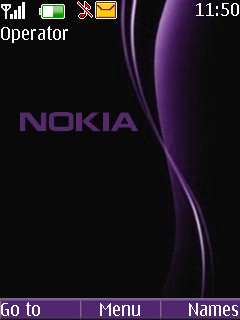 Nokia Purple Mobile Theme