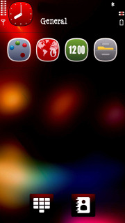 Blurry Colors Mobile Theme