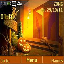 Halloween Mobile Theme