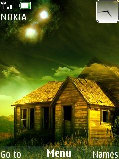 3D Nature Home Mobile Theme