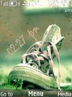 Nice Shoe Mobile Theme