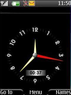 Swf Analog Clock Mobile Theme