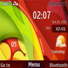 05 Colors Mobile Theme