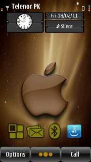 Brown Apple Mobile Theme
