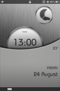 Boss Ls Circle IPhone Mobile Theme
