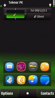 Greenish Mobile Theme