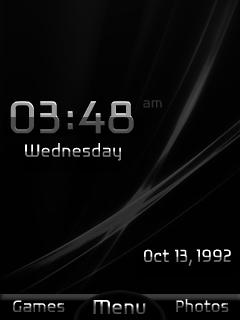 Metal Blackberry Mobile Theme