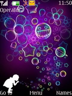 Bubbles Nokia Theme Mobile Theme