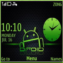Droid Mobile Theme