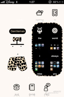 Leopard Grain Party IPhone Theme Mobile Theme