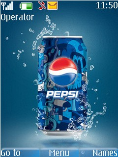 Pepsi With Tone Mobile Theme