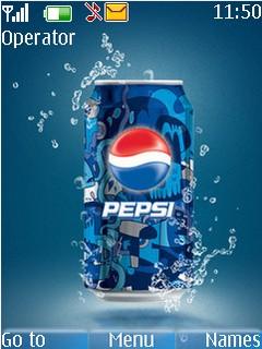 Pepsi With Tone Mobile Theme