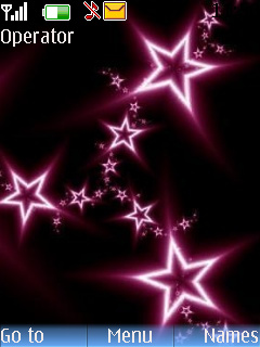 Abstract Stars Mobile Theme