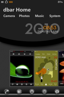 Dbar Home IPhone Theme Mobile Theme