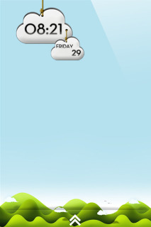 LS Cloud IPhone Theme Mobile Theme