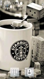 Starbucks Danbo Mobile Theme