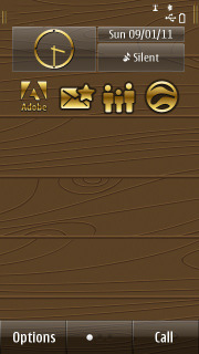 Contour Gold Mobile Theme