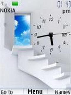 Heaven Way Clock Mobile Theme