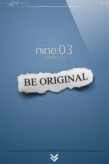 Be Original IPhone Theme Mobile Theme