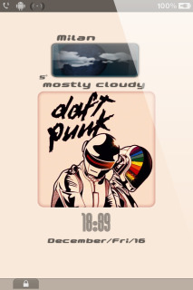 LS Daft Punk IPhone Theme Mobile Theme