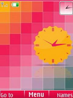 Rainbow Squares S40 Theme Mobile Theme