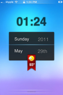 IGlassSol LockScreen IPhone Theme Mobile Theme