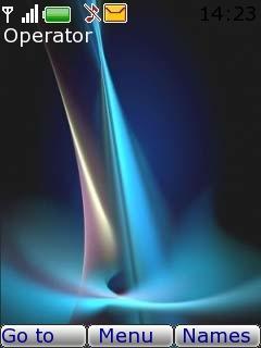 Lue Flame Mobile Theme