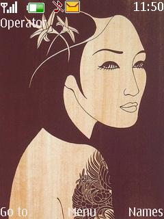 Geisha Mobile Theme