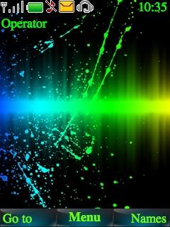 Colour Blind Line Nokia S40 Theme Mobile Theme