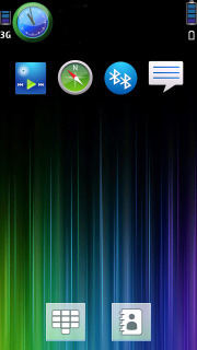 Abstract Colorful S60v5 Theme Mobile Theme