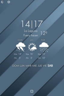 LS Weather Stripes IPhone Theme Mobile Theme