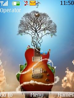 3D Music Tree S40 Theme Mobile Theme