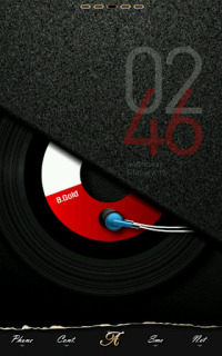 Music Cd B Gold For Android Theme Mobile Theme