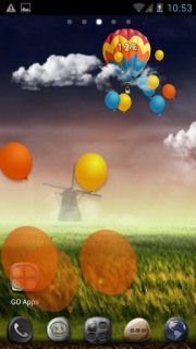 Windmill Colors Balloons Desire Android Theme Mobile Theme