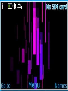 3D Animated Lines C3 & X2-01 Theme Mobile Theme